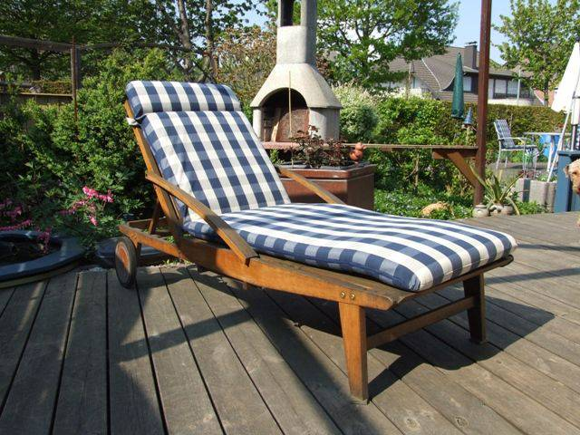 auflagen f r garten relaxliegen und deckchair die kissengestalter. Black Bedroom Furniture Sets. Home Design Ideas